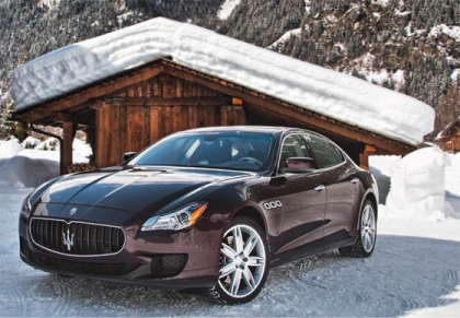 MASERATI Winter Driving Events 2016