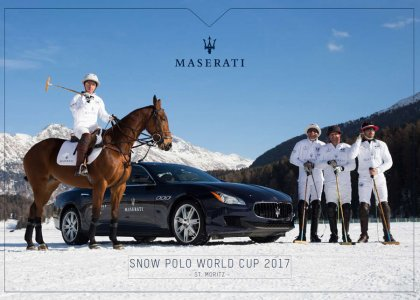 MASERATI Snow Polo World Cup 2017